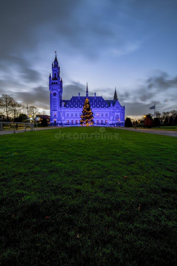 Blauw voor Rechten van de mens dag 2018 stock afbeeldingen