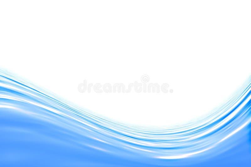 Blauw water stock illustratie
