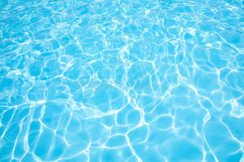 Blauw water royalty-vrije stock afbeeldingen
