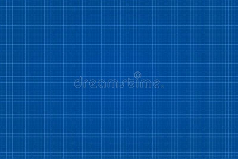Blauwdruk grafisch gevoerd document royalty-vrije illustratie