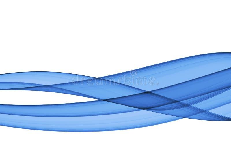 Blauwe abstaction royalty-vrije illustratie