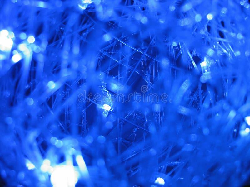 Blauwe abstracte 3D achtergrond stock fotografie