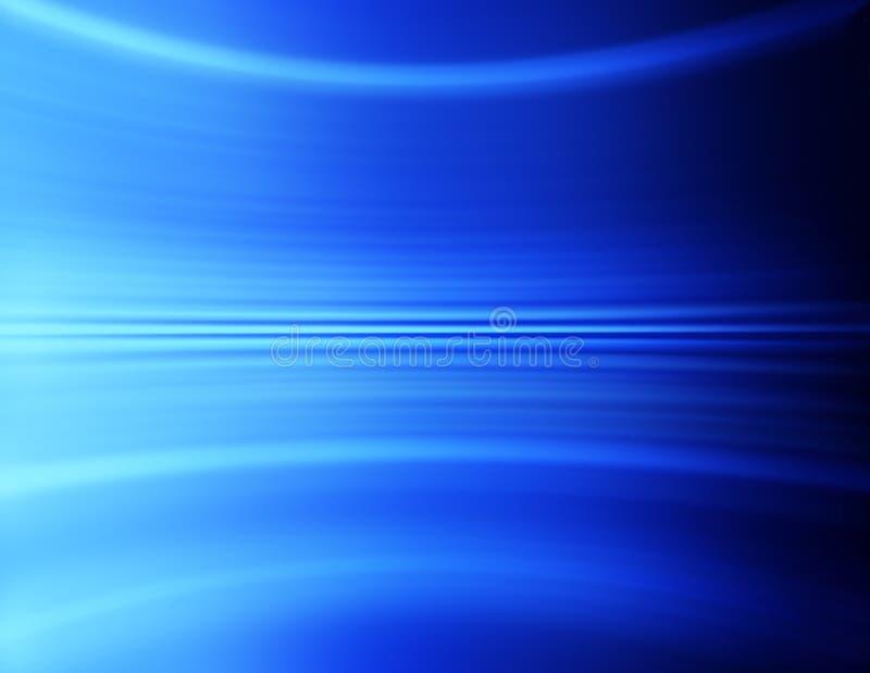 Blauwe Abstracte Achtergrond stock foto