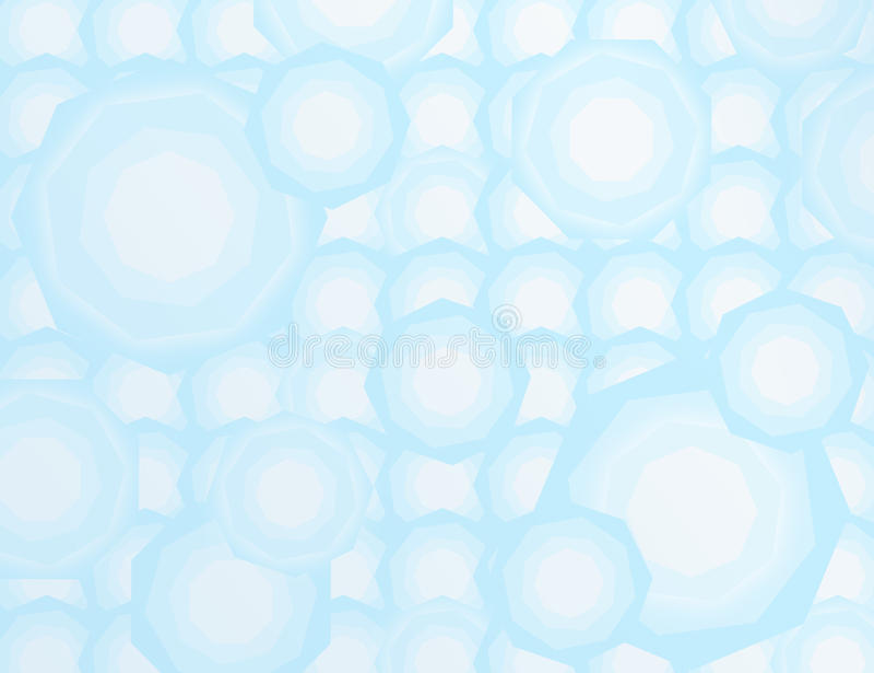 Blauwe Abstracte Achtergrond royalty-vrije stock afbeeldingen