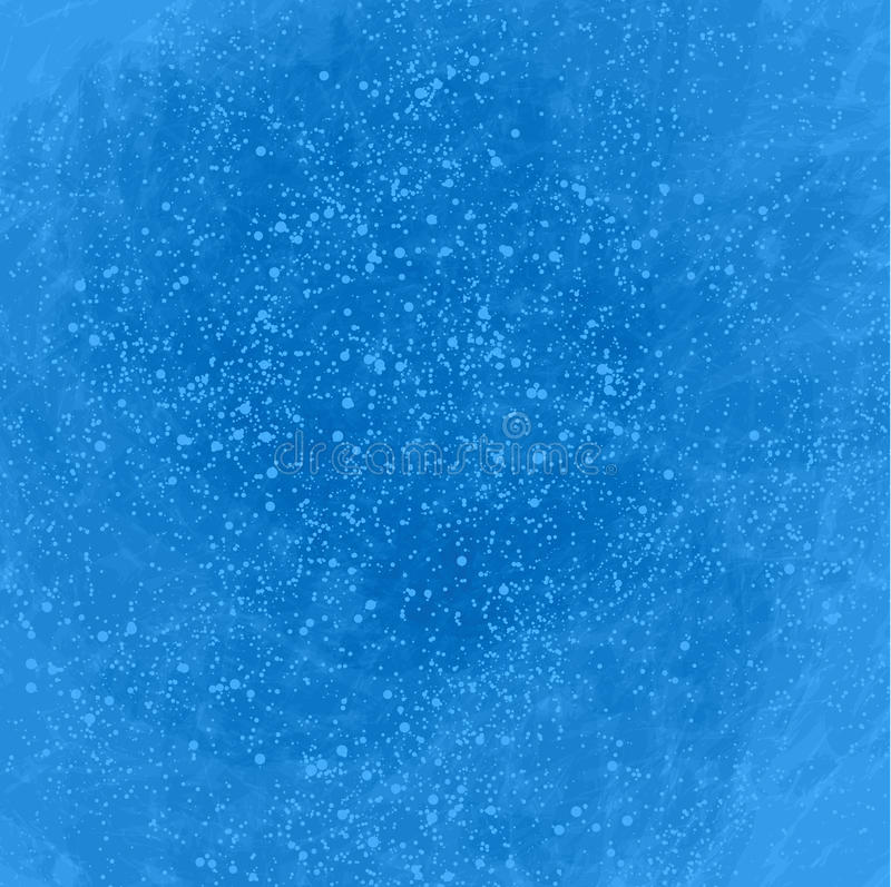 Blauwe abstracte achtergrond met veel bellen stock afbeeldingen