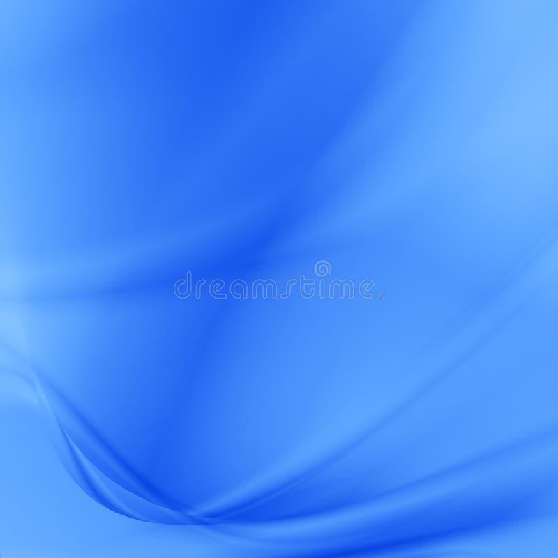 Blauwe abstracte achtergrond subtiele satijntextuur royalty-vrije illustratie