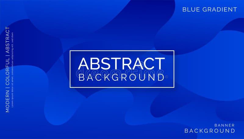 Blauwe Abstracte Achtergronden, Moderne Kleurrijke Achtergronden, Dynamische Abstracte Achtergronden stock fotografie
