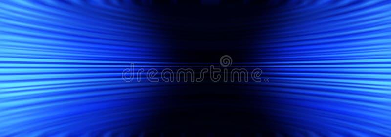 Blauwe Abstracte Bannerachtergrond vector illustratie