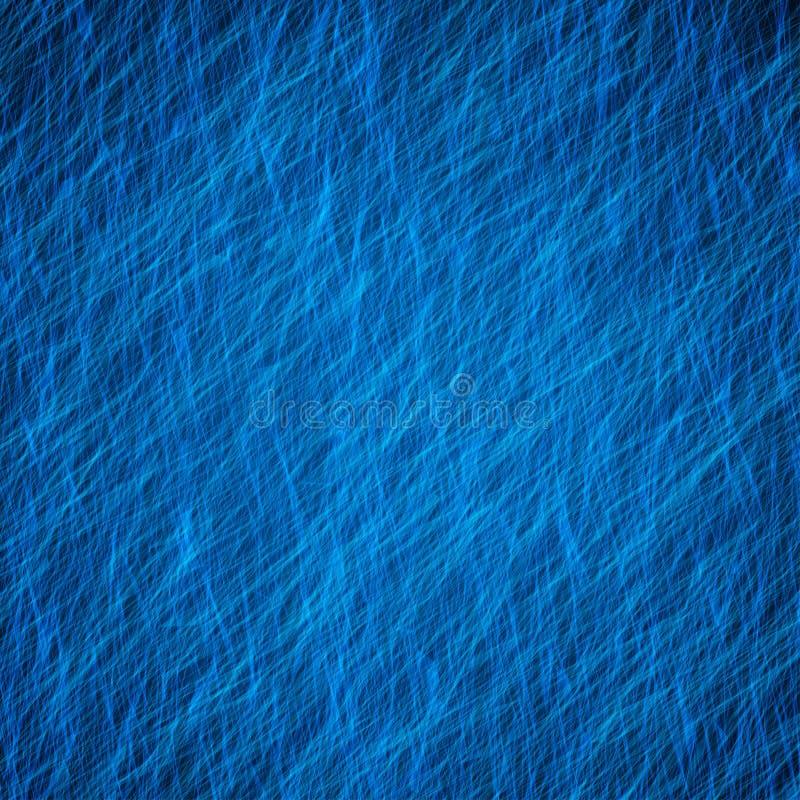 Blauwe abstracte grungetextuur als achtergrond met licht royalty-vrije illustratie