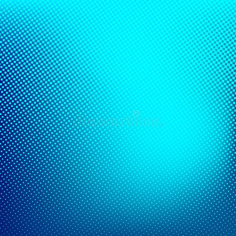 Blauwe Abstracte Halftone Achtergrond Creatieve vectorillustratie stock illustratie