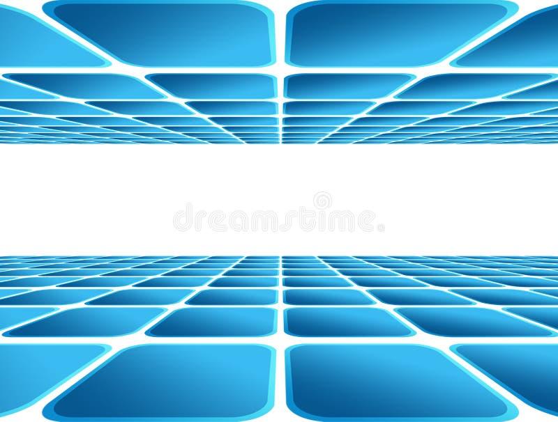 Download Blauwe achtergrond stock illustratie. Illustratie bestaande uit spatie - 10781068