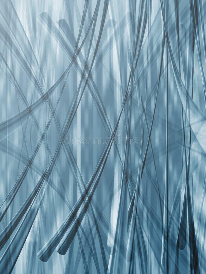 Blauwe achtergrond 2 vector illustratie