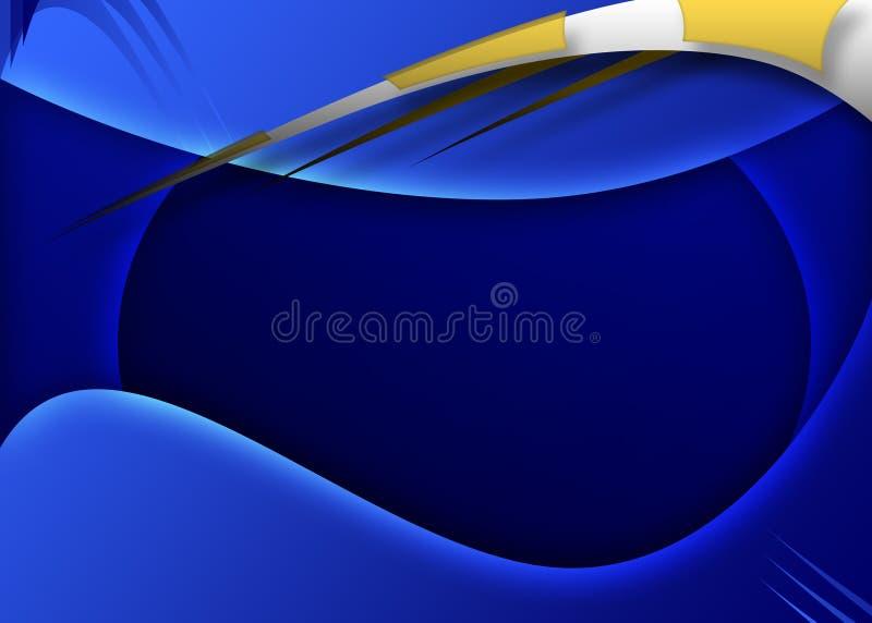 Blauwe achtergrond stock illustratie