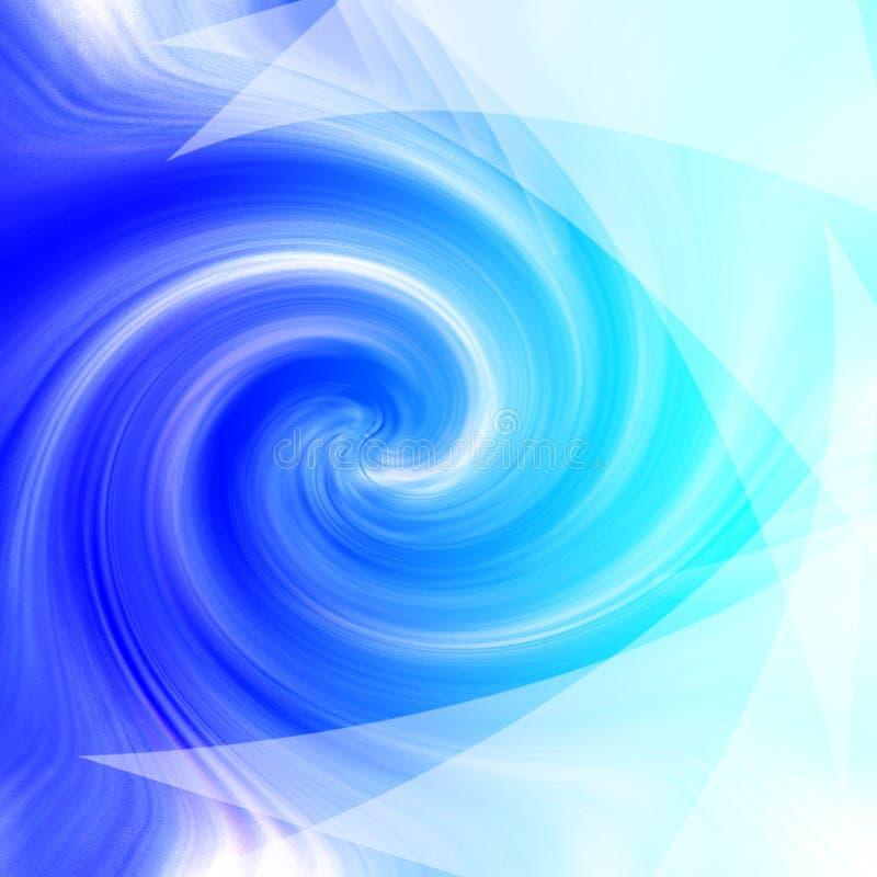 Blauwe backgraund stock illustratie
