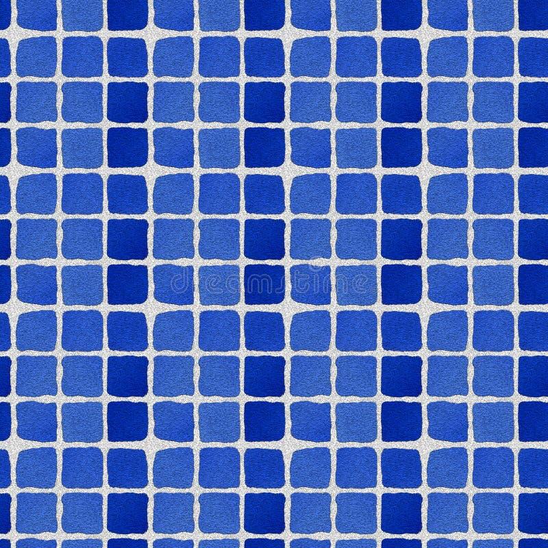 Blauwe bakstenen royalty-vrije illustratie