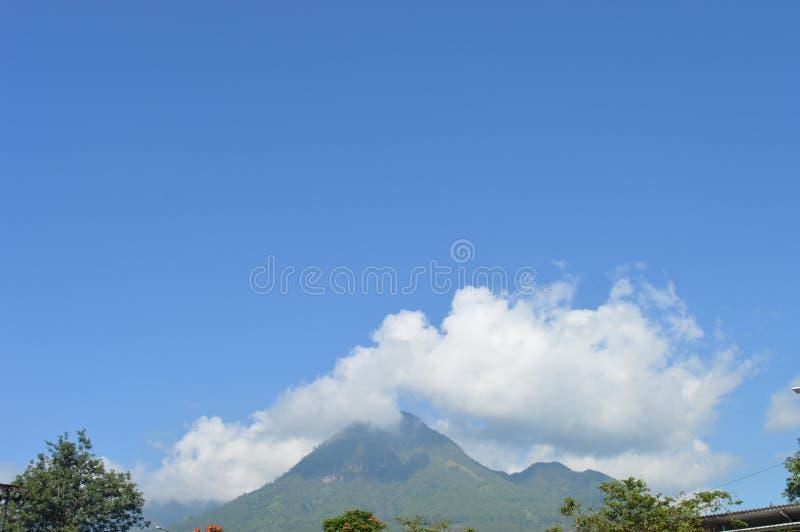 Blauwe Berg royalty-vrije stock afbeeldingen