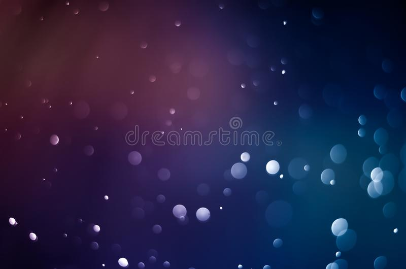 Blauwe bokeh abstracte achtergrond roze onduidelijk beeld donkere purple royalty-vrije stock fotografie