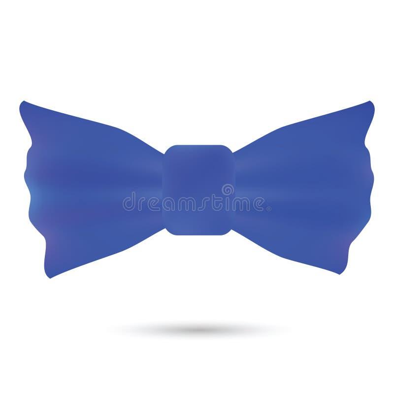 Blauwe boog stock illustratie