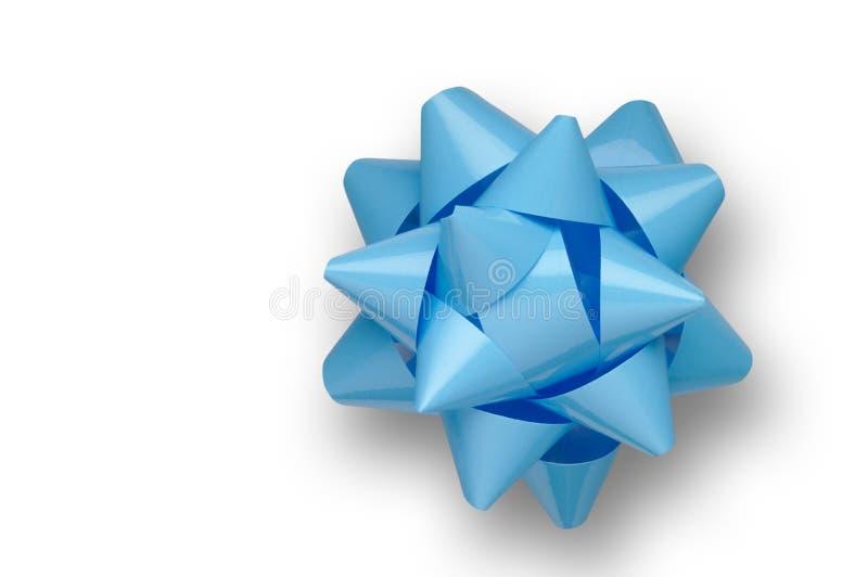 Blauwe boog met het knippen van weg royalty-vrije stock fotografie