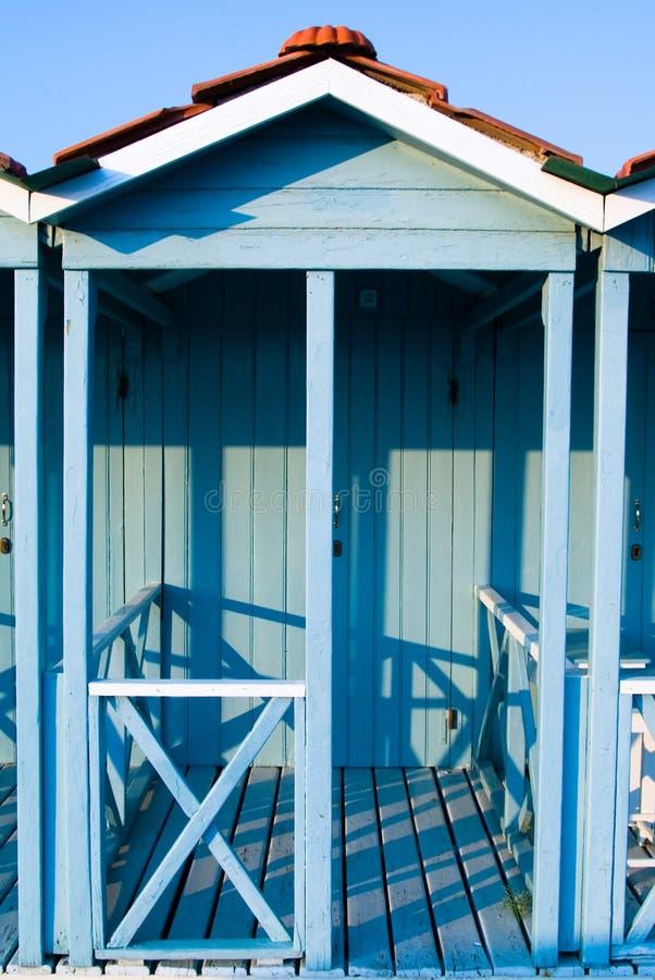 Blauwe Cabina stock foto's