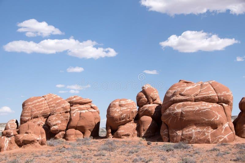 Blauwe Canion, Arizona, de V.S. stock foto's