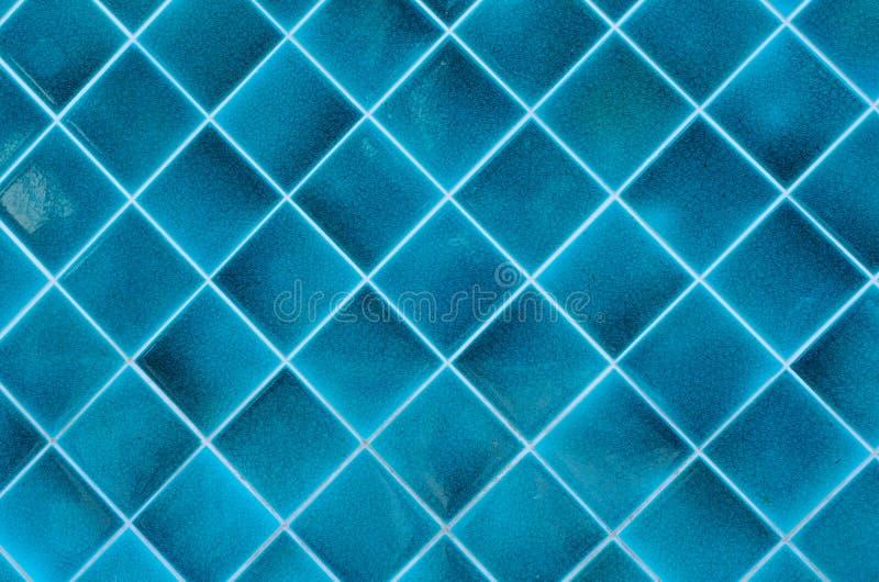 Blauwe ceramisch stock fotografie