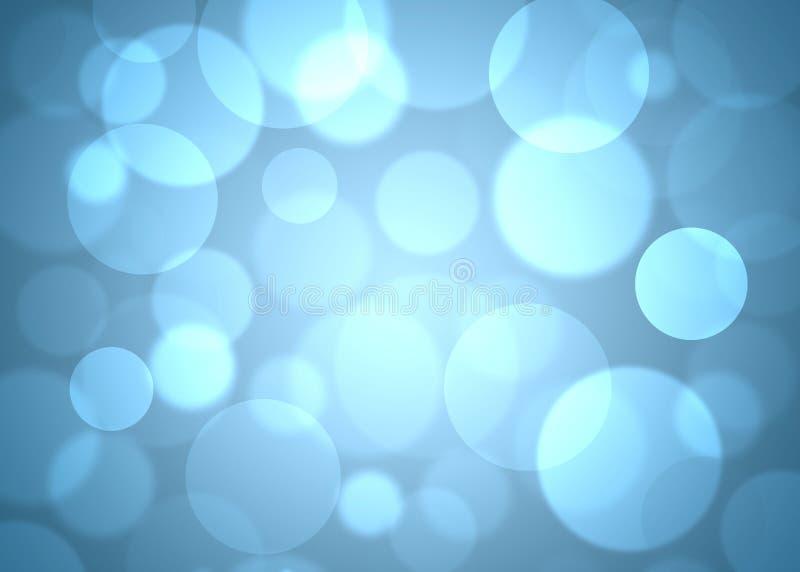Blauwe cirkels abstracte achtergrond vector illustratie