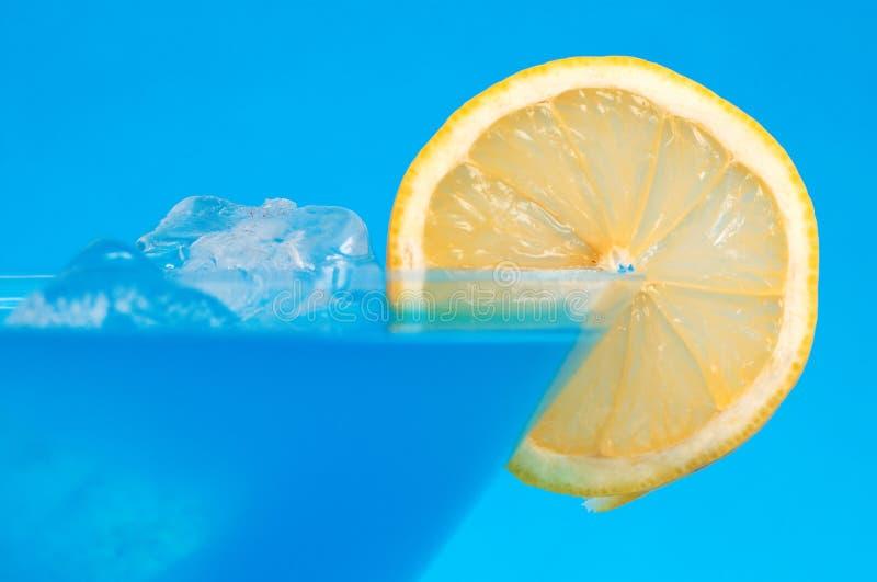 Blauwe cocktail royalty-vrije stock fotografie