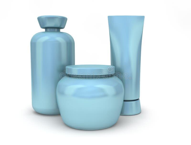 Blauwe Containers vector illustratie