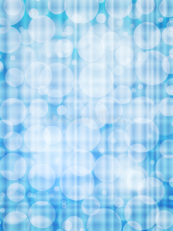 Blauwe defocus abstracte verticaal als achtergrond royalty-vrije illustratie