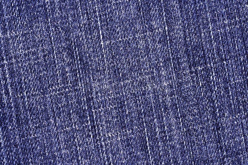 Blauwe denimstof royalty-vrije stock afbeeldingen