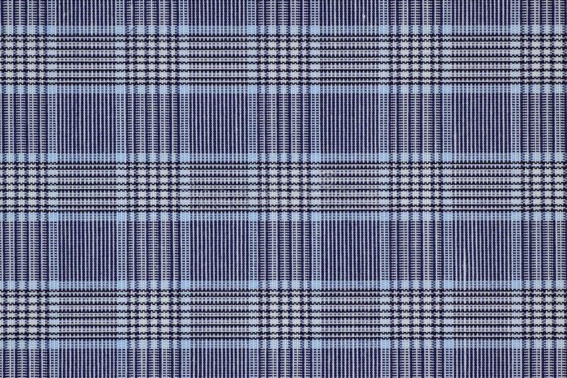 Blauwe doek stock afbeelding