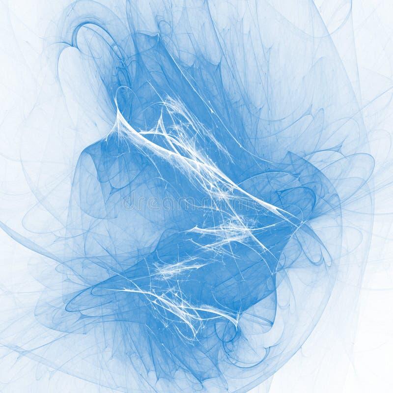 Blauwe droom vector illustratie