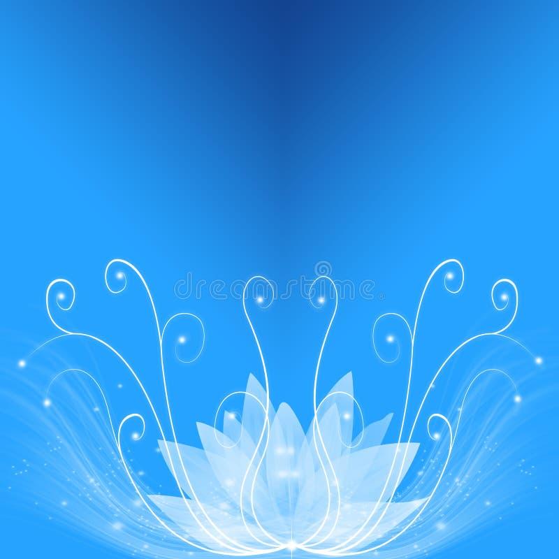 Blauwe droom stock illustratie