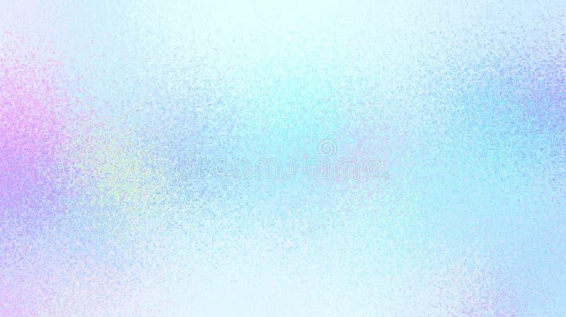 Blauwe duidelijke flikkeringsachtergrond Schone glas berijpte textuur royalty-vrije illustratie