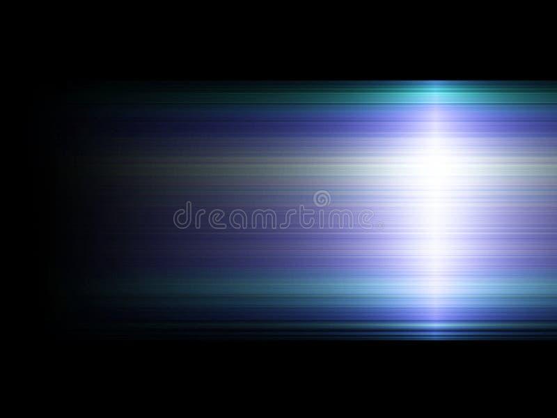 Blauwe en Groene achtergrond vector illustratie