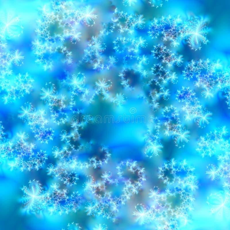 Blauwe en Witte Abstracte Achtergrond stock afbeelding