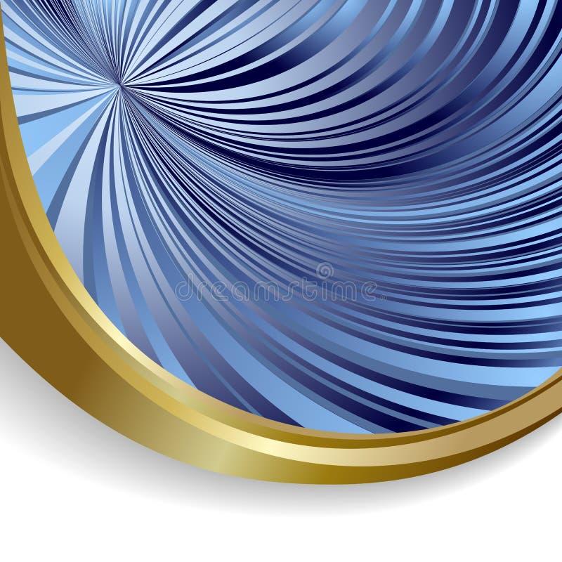 Blauwe en witte achtergrond stock illustratie