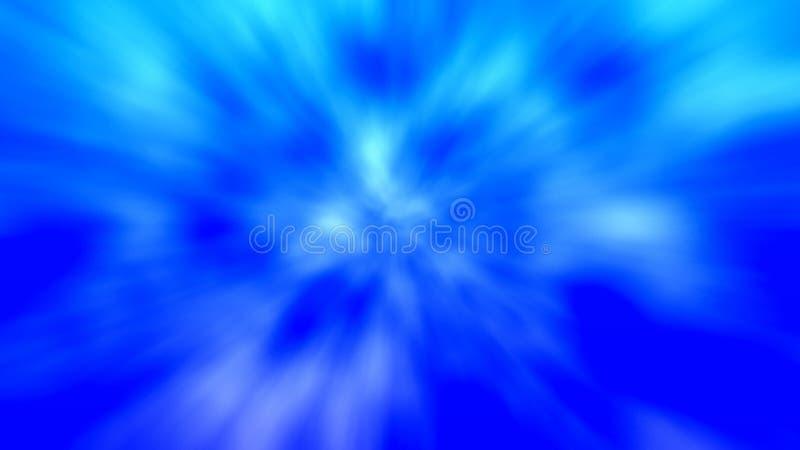 Blauwe en witte motieachtergrond royalty-vrije stock foto's