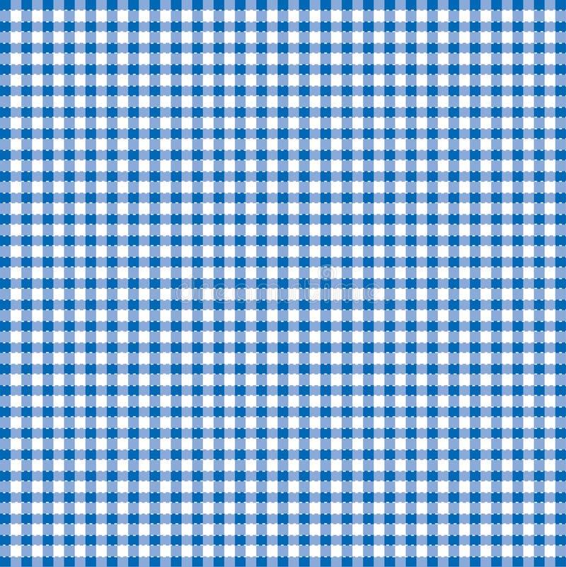 Blauwe en witte populaire achtergrond stock illustratie