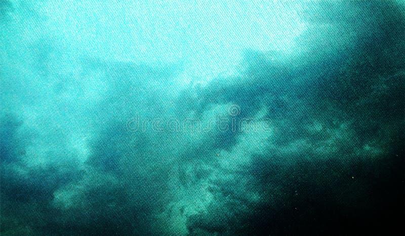 Blauwe en zwarte in de schaduw gestelde geweven achtergrond Van Achtergrond grunge textuur Achtergrond behang vector illustratie
