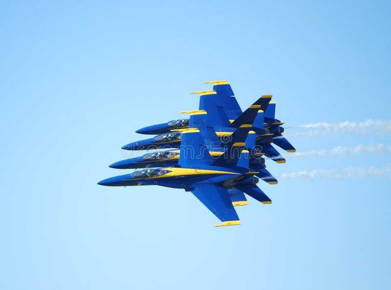 Blauwe Engelen   stock fotografie
