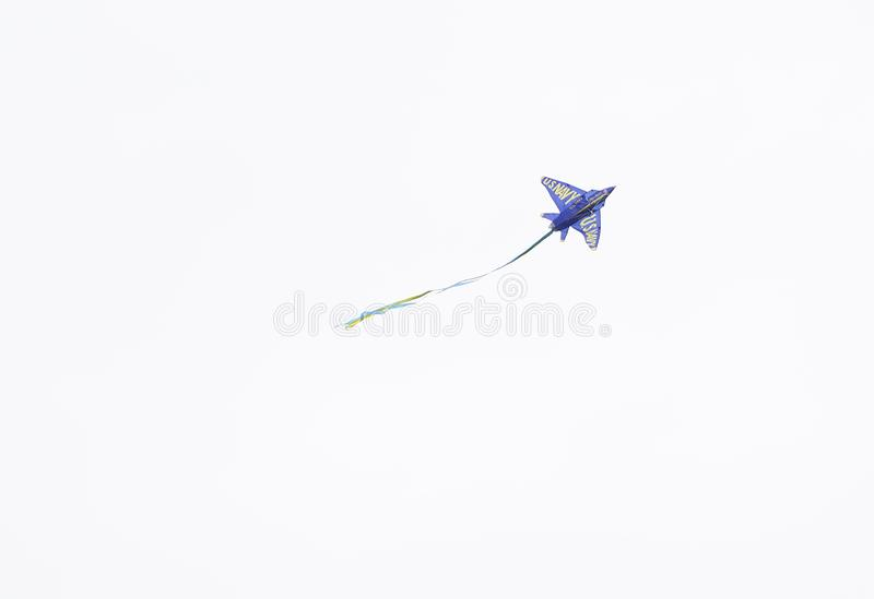 Blauwe Engelenvlieger royalty-vrije stock afbeelding