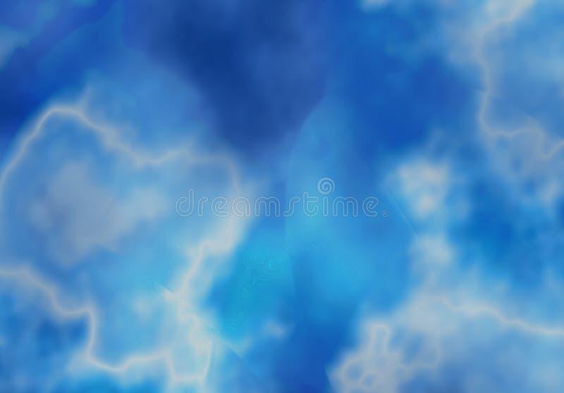 Blauwe fotoachtergrond royalty-vrije illustratie