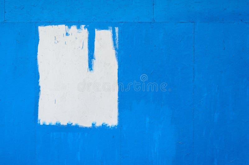 Blauwe geschilderde houten textuur stock afbeelding