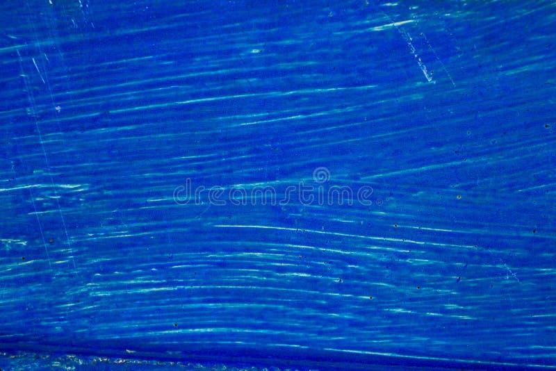 Blauwe geschilderde oppervlakte, achtergrond voor ontwerp stock afbeeldingen