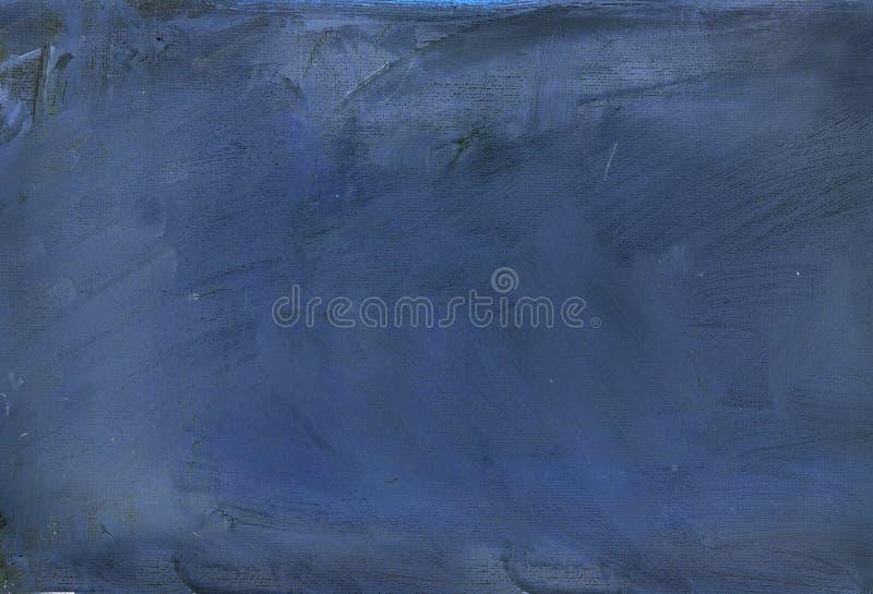 Blauwe geschilderde samenvatting stock afbeeldingen