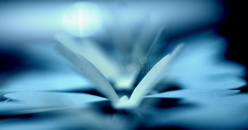Blauwe gestemde document verzwakte vormen stock afbeeldingen