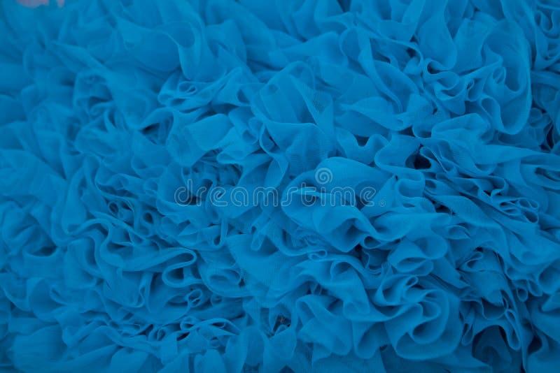 Blauwe Geweven Achtergrond Royalty-vrije Stock Afbeelding