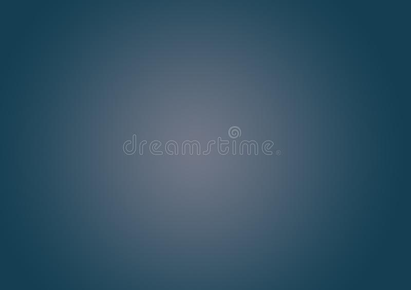 Blauwe gradiëntachtergrond voor behang stock afbeelding